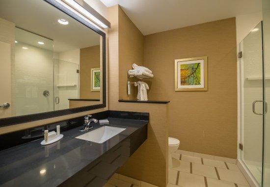 Orem, UT: King Suite Bathroom with Shower