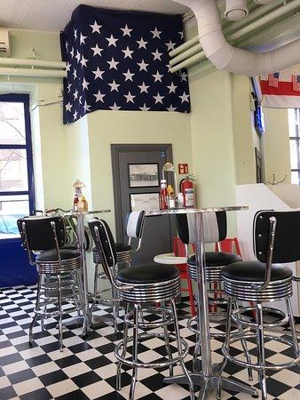 Lahti, Finland: Ravintola ja Texas burger
