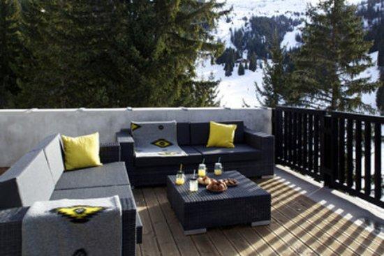 Φλεν, Γαλλία: Terrace