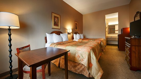 Fort Oglethorpe, GA: Guest Room Queen Bed