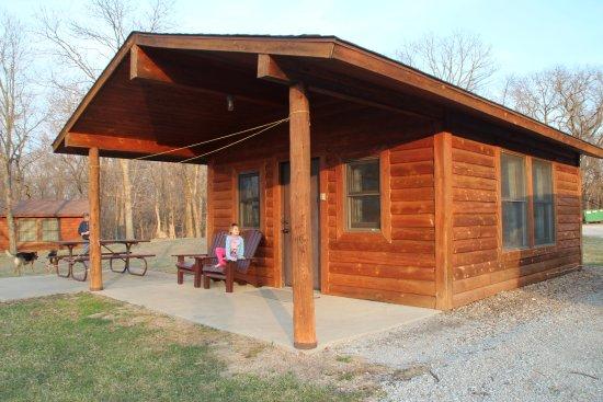 Moravia, Айова: Cabin view.