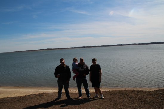 Moravia, IA: Lake Rathbun. Largest lake in Iowa.
