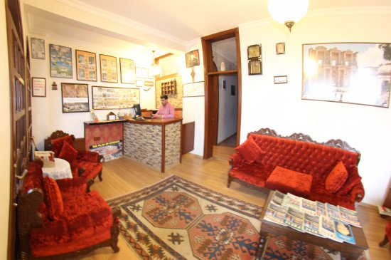 Boomerang Guesthouse Ephesus: reception