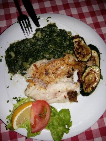 Ostarija u Vidjakovi: Grilled fish fillet with vegetables