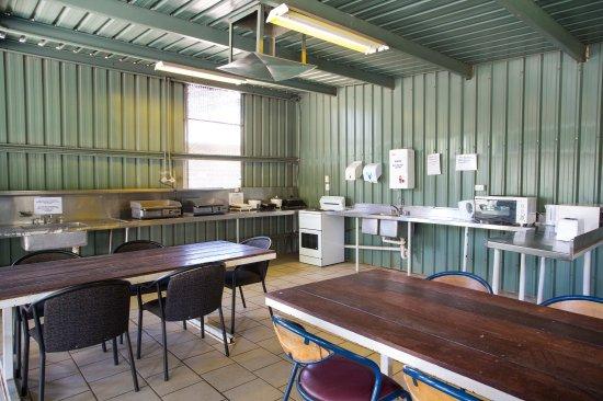 Mount Isa, أستراليا: Camp kitchen