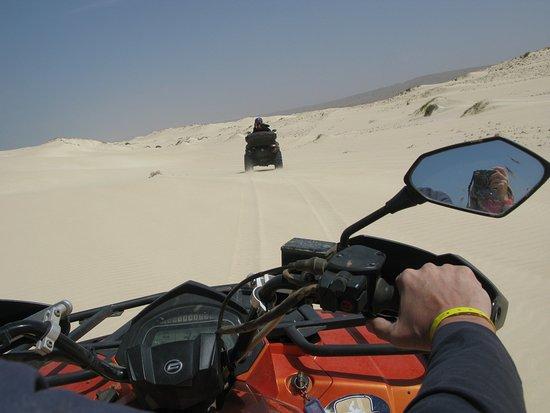 Sal Rei, Kap Verde: Passage dans le dunes