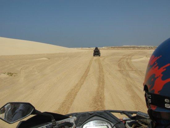 Sal Rei, Kap Verde: Un peu de vitesse