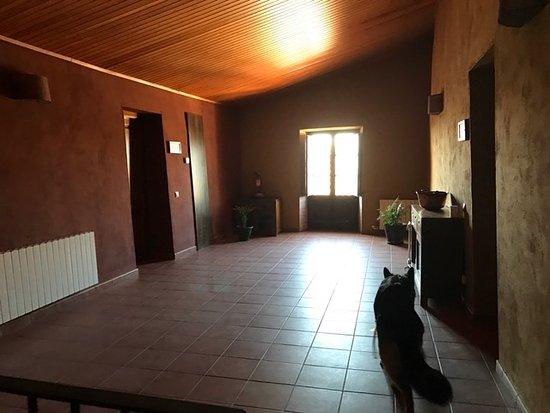 Sant Jaume dels Domenys, España: Pasillo de las Habitaciones