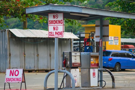 gas station in charlotteville picture of cp s tours and taxi rh tripadvisor co za