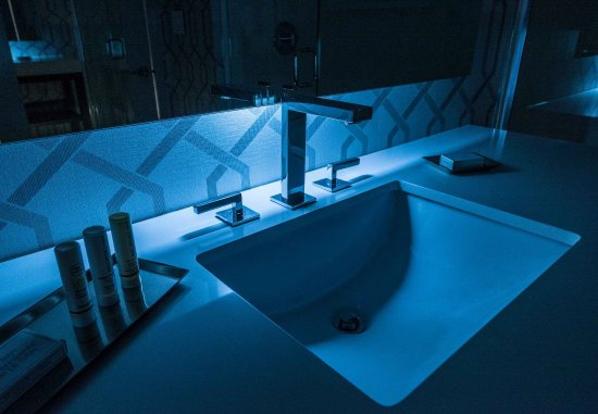 Bathroom Lighting Nyc guest bathroom - lighting - picture of courtyard edgewater nyc
