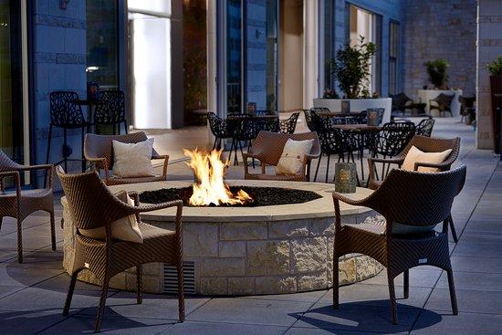 Second Bar + Kitchen Terrace - Picture of Archer Hotel Austin ...