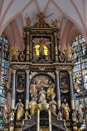 Mondsee, Austria: Het altaar