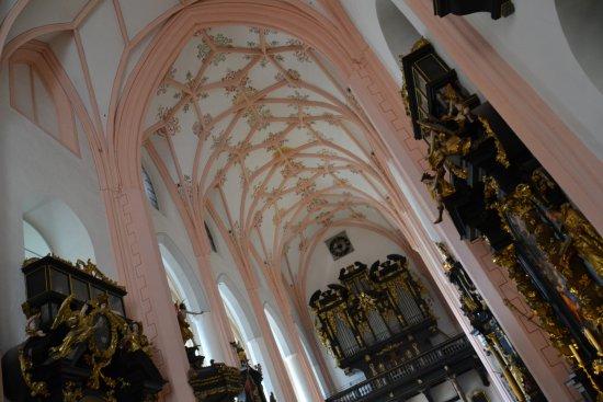 Mondsee, Austria: Het orgel