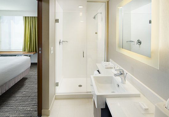 Guest Bathroom Picture Of Springhill Suites Carle Place Garden