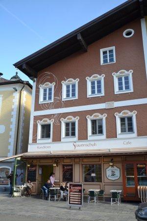 Mondsee, Austria: Het café