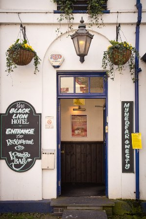 Lampeter, UK: Entrance