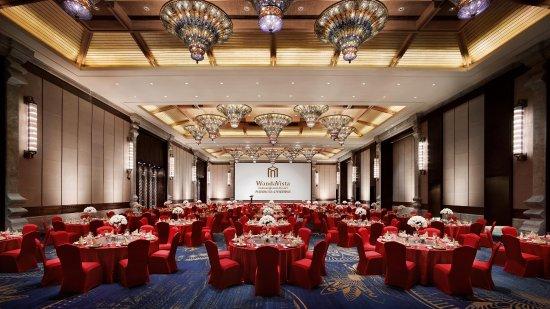 Jinghong, China: Ballroom