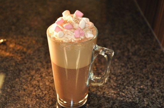 Bootle, UK: Luxury hot chocolate