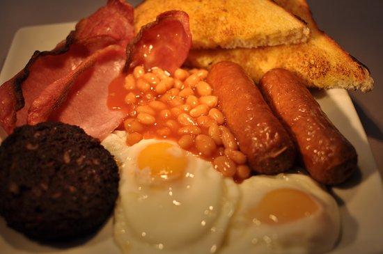 Bootle, UK: Big breakfast