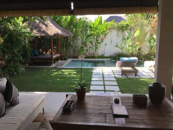 Villa Bali Asri Batubelig : Von der Polstergruppe
