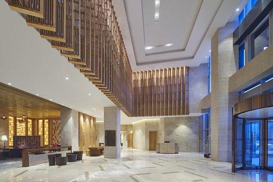 Pujiang County, China: Lobby Area