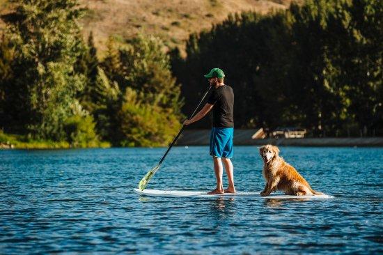 Ketchum, ID: Paddleboarding