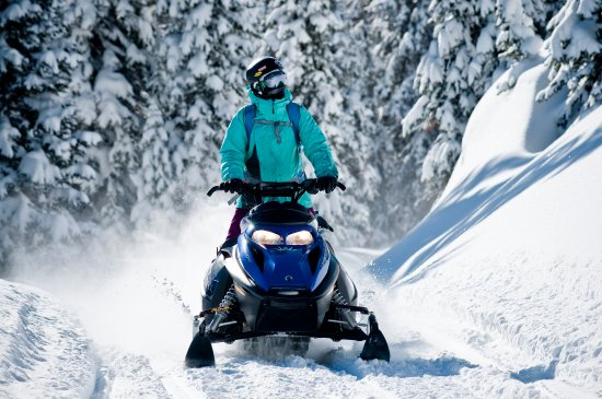 Ketchum, ID: Snowmobiling