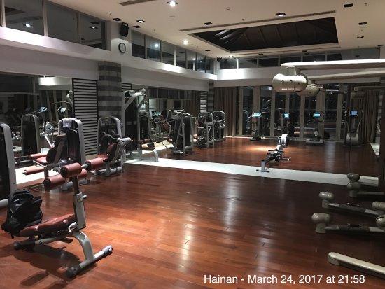 Wanning, Cina: Fitness Center