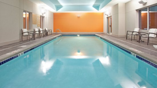 Candlewood Grand Island extended stay hotel has a pool to relax in