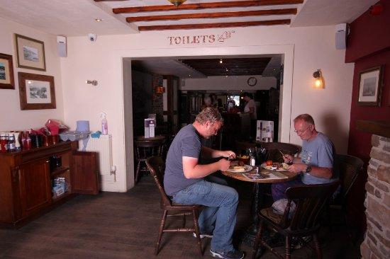 Aberdyfi (Aberdovey), UK: Lovely Food