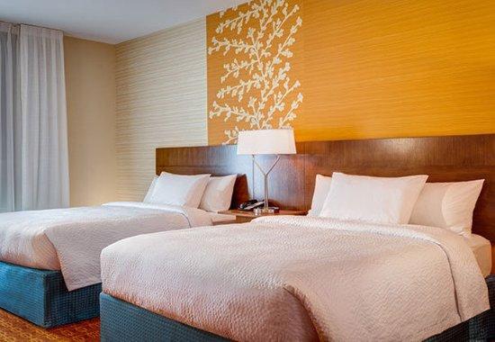 Branchburg, نيو جيرسي: Queen/Queen Guest Room