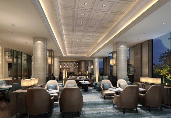 Taizhou, China: Lobby Lounge