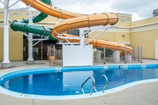 كلاريون هوتل بالم أيلاند إندور واتر بارك: Pool