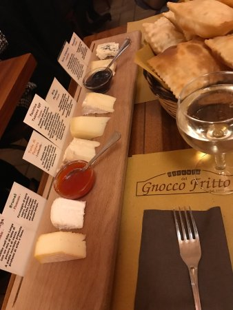 Photo of Italian Restaurant Osteria Del Gnocco Fritto at Via Pasquale Paoli 2, Milan 20143, Italy