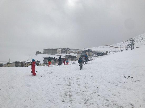 Station de ski - Saint Lary Soulan : Vue de la station