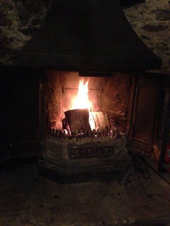 Appin, UK: Very cosy on a cold night!