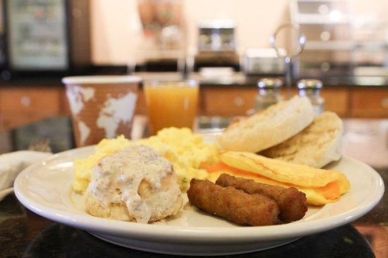 Florence, AZ: Hot Breakfast Buffet