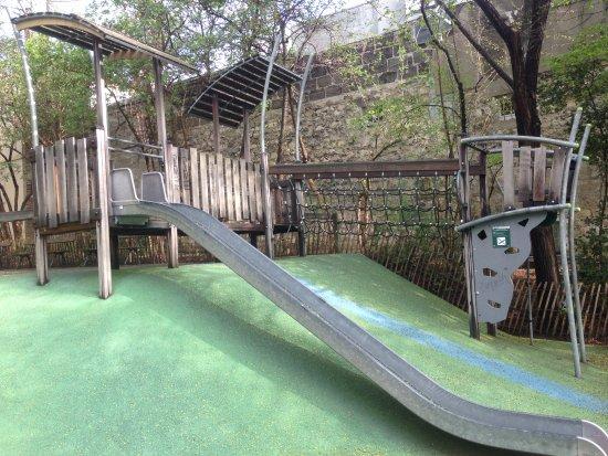 Aire De Jeux Pour Jeunes Enfants Photo De Jardin Naturel Pierre