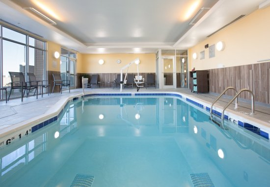 Relax and refresh in our Burlington, Colorado hotel's Indoor Pool