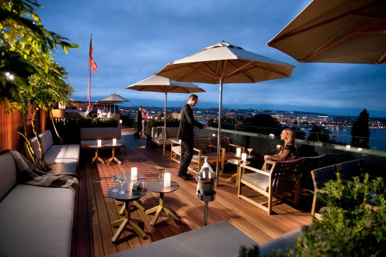 Hotel Metropole Geneve: Lounge 5 - Roof Top Terrace