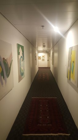 The Diaghilev, LIVE ART Suites Hotel: Art in the corridors