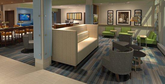 McKinney, TX: Hotel Lobby