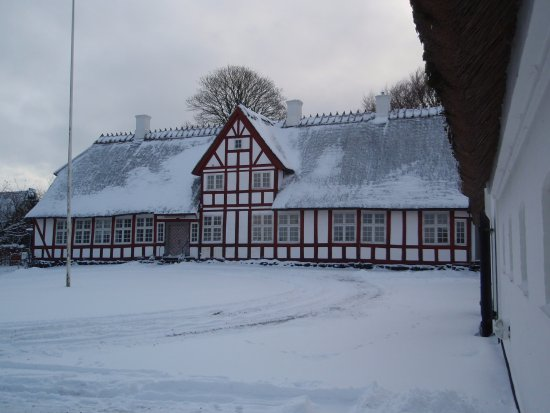 Soroe, Denmark: Præstegården i julestemning