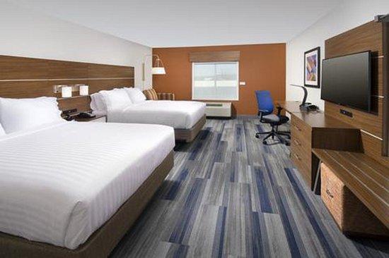 Greenwood, Carolina Selatan: Double Queen Guest Room (rendering)