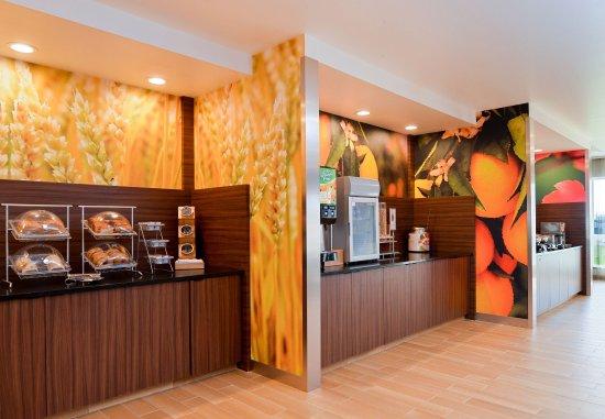 Martinsburg, Virgínia Ocidental: Breakfast Serving Area