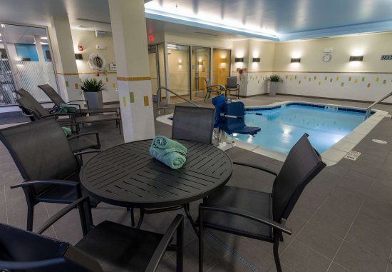 Geneva, NY: Indoor Pool - Seating Area