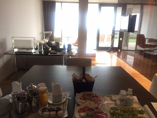 El Saler, Spanyol: Desayuno en la habitación