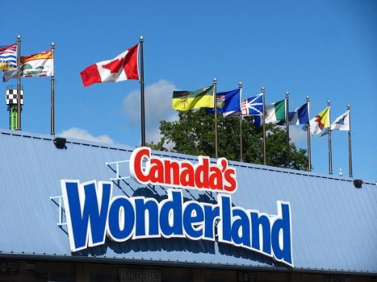King City, Canadá: Attraction: Canada's Wonderland