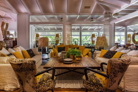 Colombier, St. Barthelemy: Lounge Villa