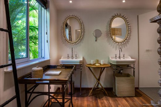 Colombier, St. Barthelemy: Shower Room